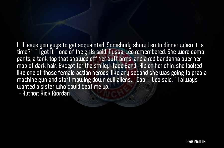 Going Over The Top Quotes By Rick Riordan