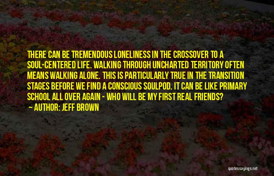 Going Through Life Alone Quotes By Jeff Brown