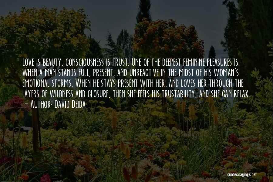Going Through Storms Quotes By David Deida