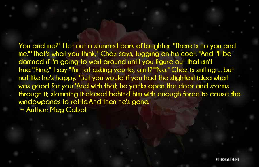 Going Through Storms Quotes By Meg Cabot