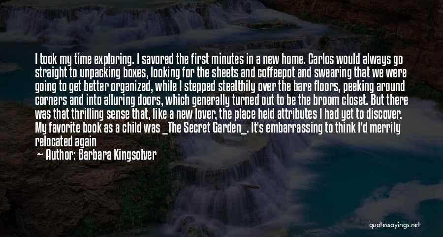 Going To A Better Place Quotes By Barbara Kingsolver