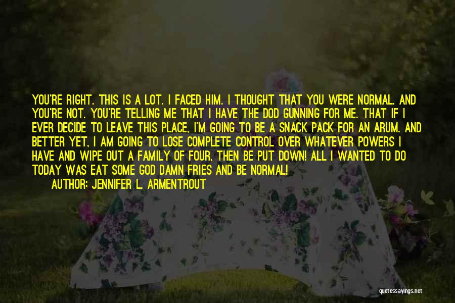 Going To A Better Place Quotes By Jennifer L. Armentrout