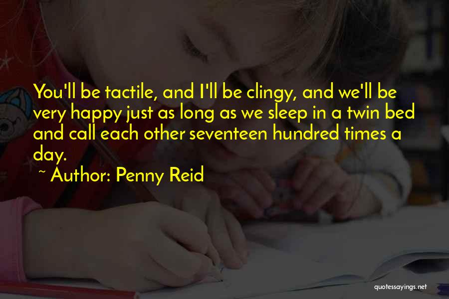 Going To Sleep Happy Quotes By Penny Reid
