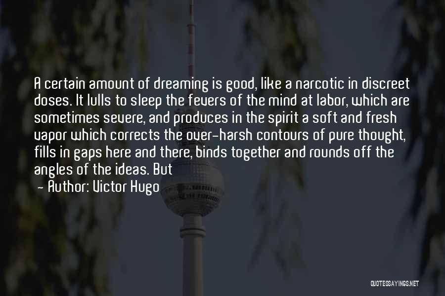 Going To Sleep Without You Quotes By Victor Hugo