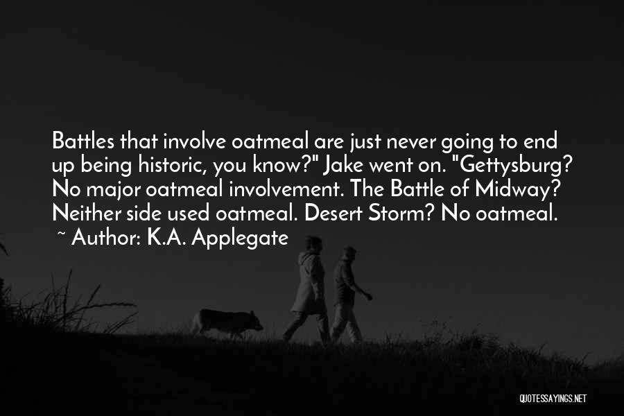 Going Underground Quotes By K.A. Applegate