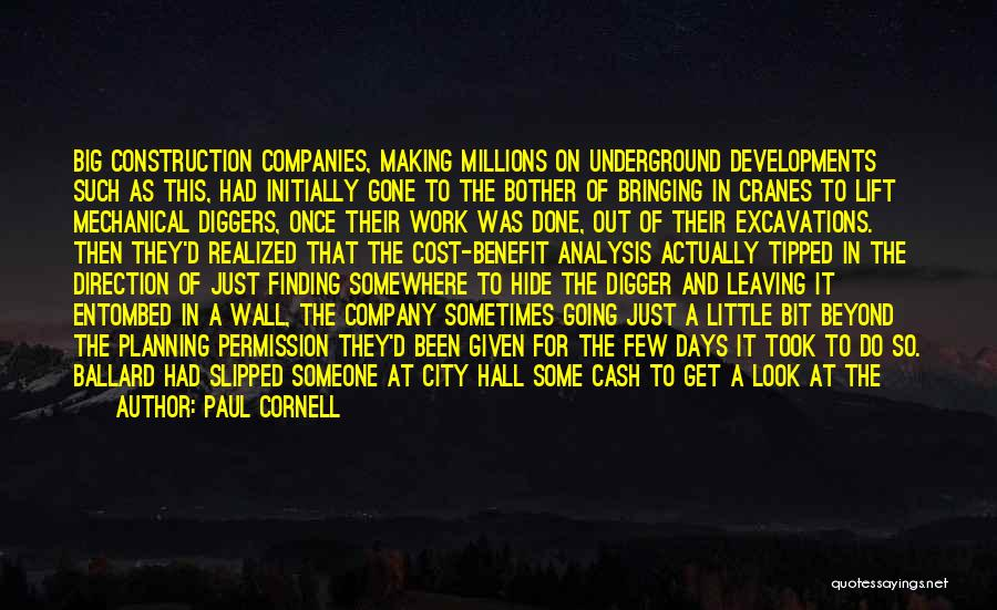 Going Underground Quotes By Paul Cornell