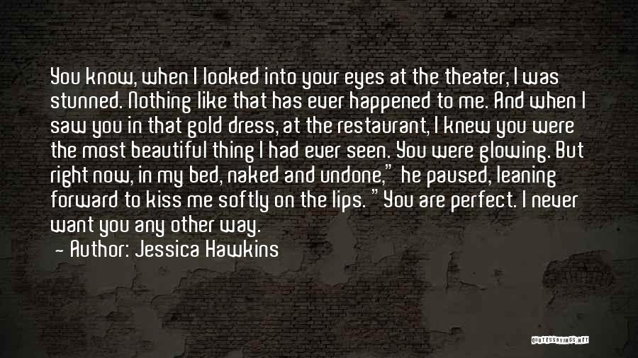 Gold Eyes Quotes By Jessica Hawkins