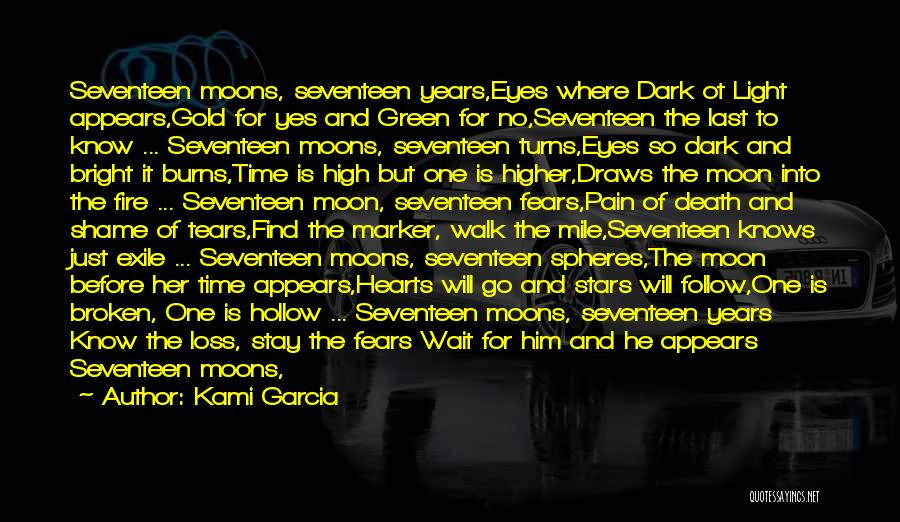 Gold Eyes Quotes By Kami Garcia