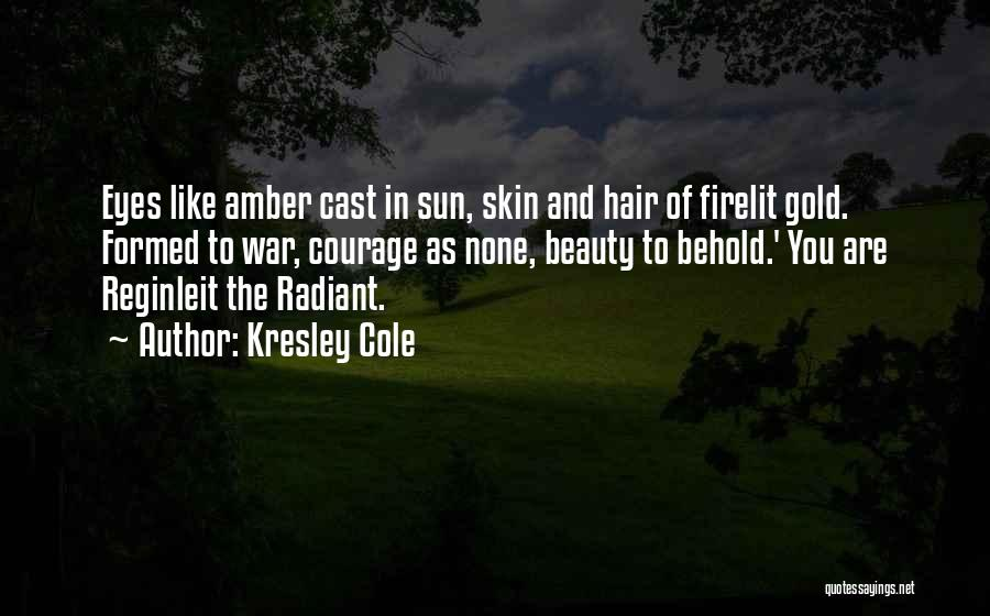 Gold Eyes Quotes By Kresley Cole