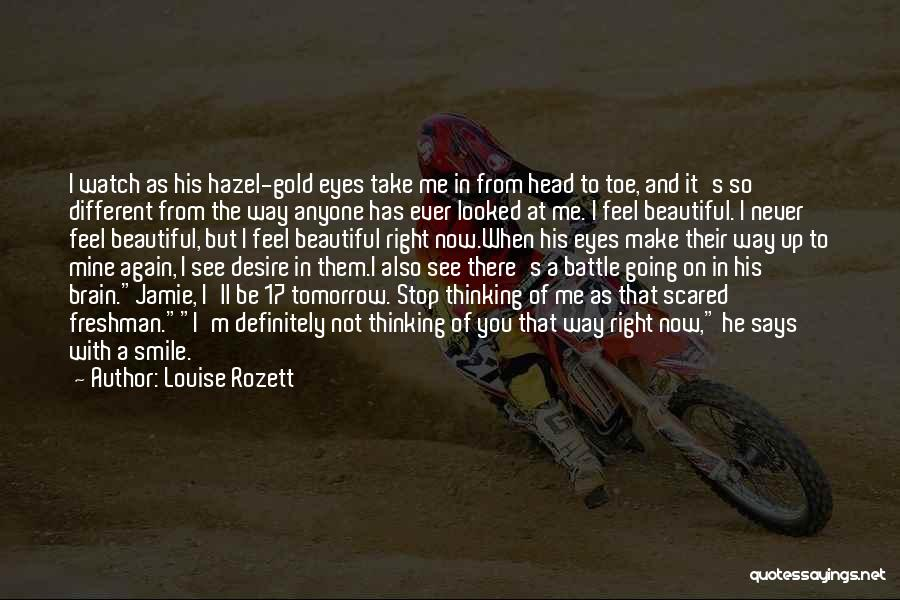 Gold Eyes Quotes By Louise Rozett