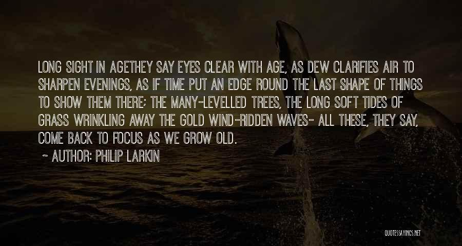 Gold Eyes Quotes By Philip Larkin