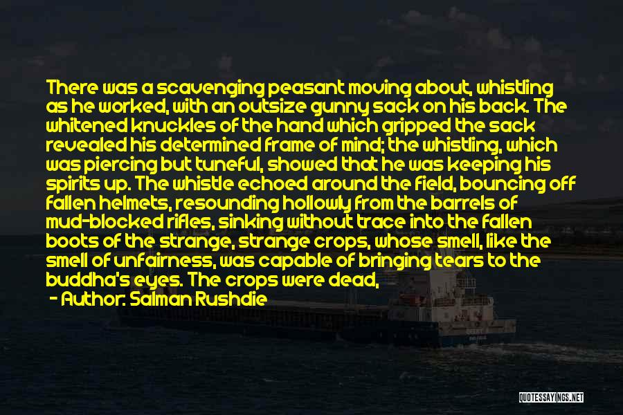 Gold Eyes Quotes By Salman Rushdie