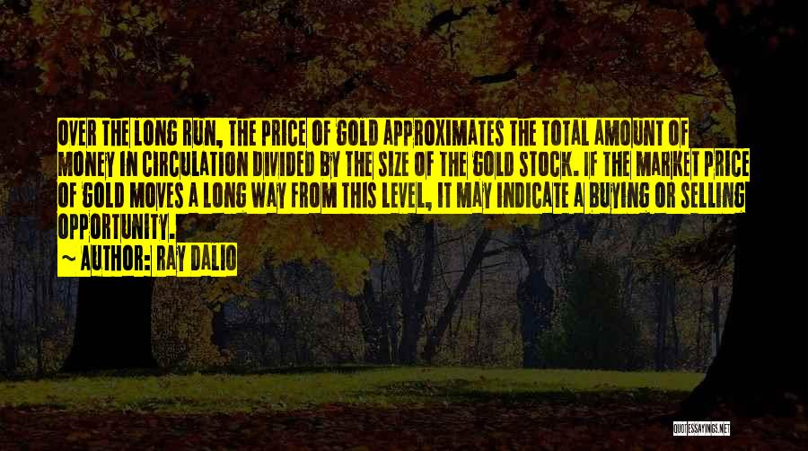 Gold Stock Market Quotes By Ray Dalio