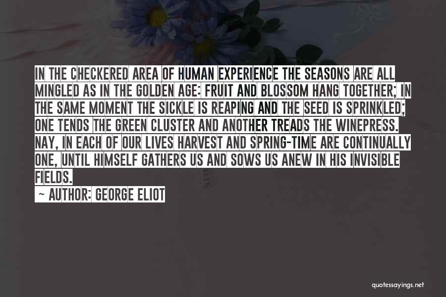 Golden Fields Quotes By George Eliot