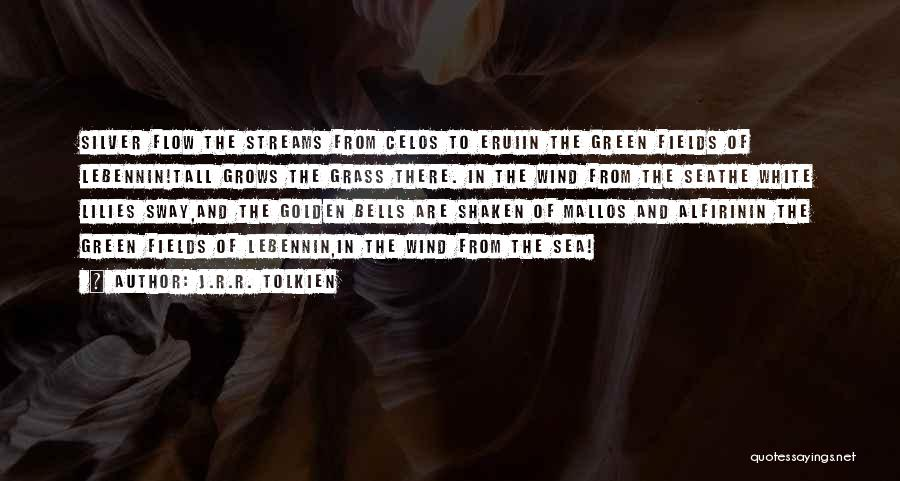 Golden Fields Quotes By J.R.R. Tolkien