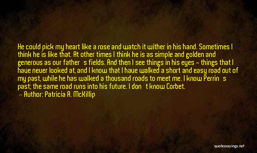 Golden Fields Quotes By Patricia A. McKillip