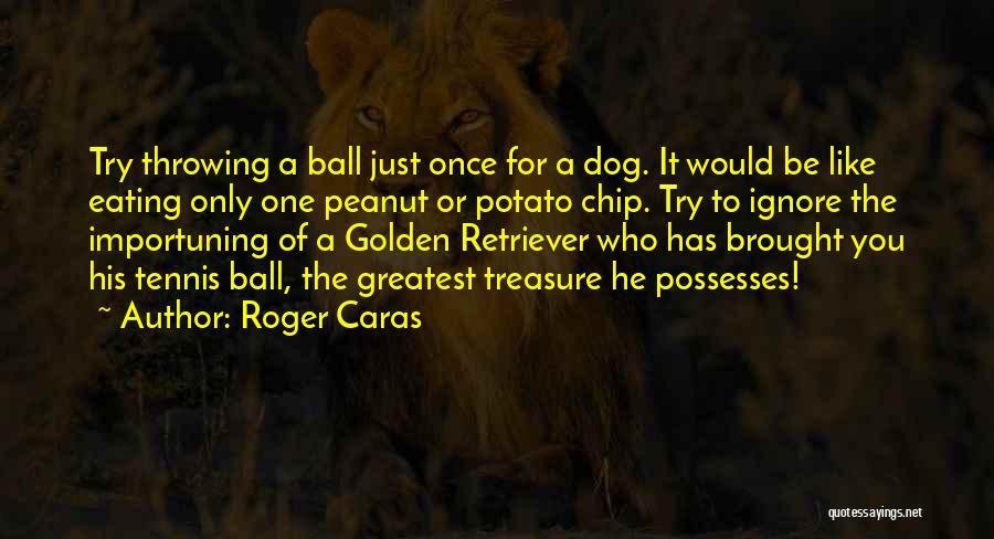 Golden Retriever Dog Quotes By Roger Caras