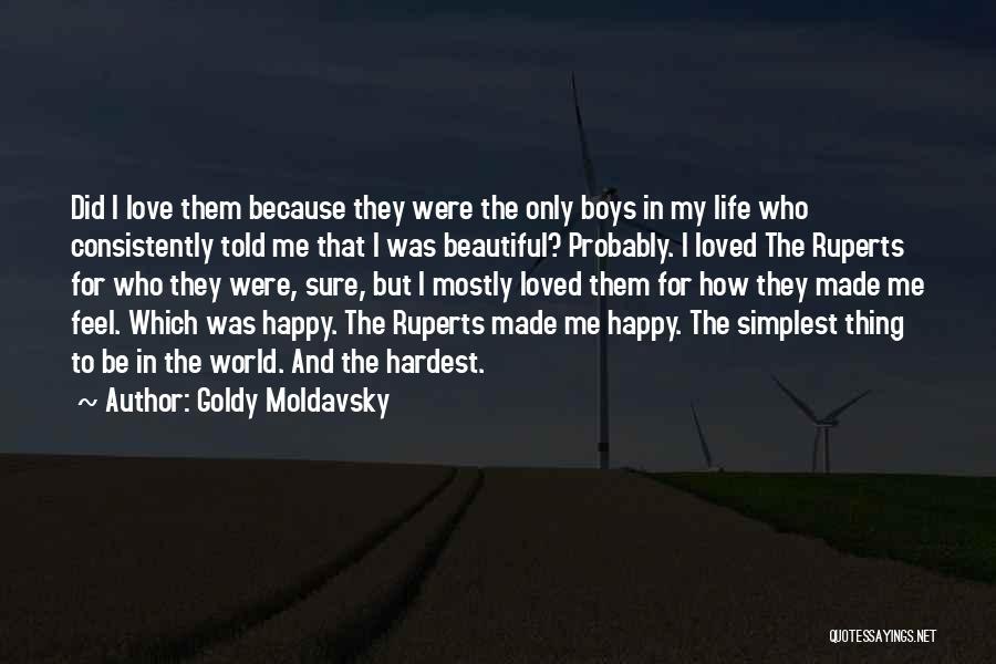 Goldy Moldavsky Quotes 2183528