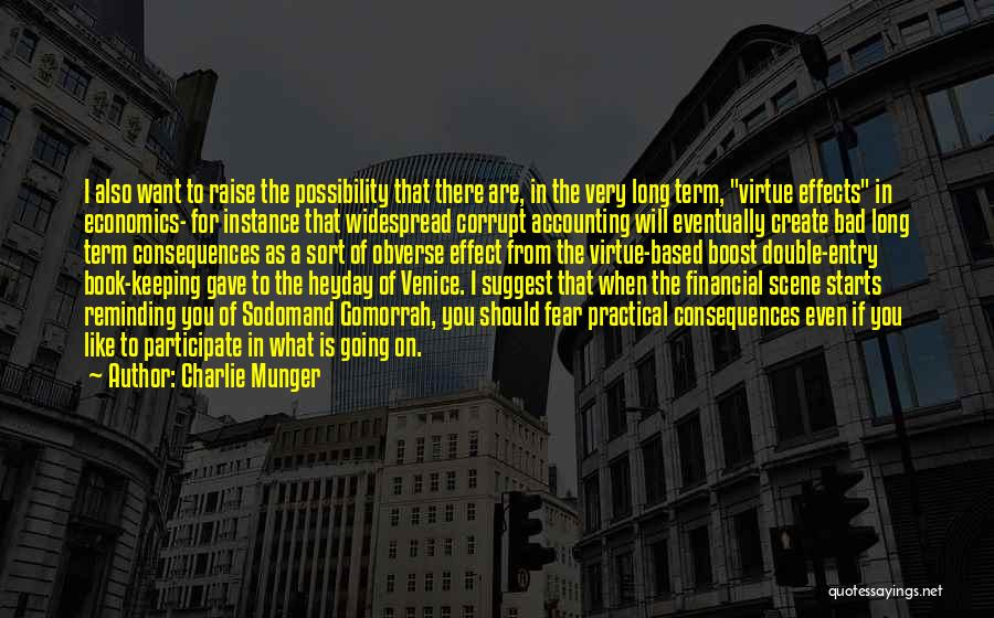 Gomorrah Book Quotes By Charlie Munger