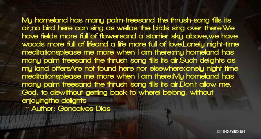Goncalves Dias Quotes 372166