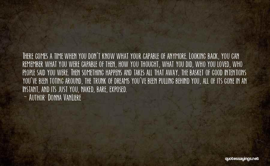 Gone Away Quotes By Donna VanLiere