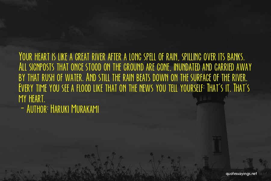 Gone Away Quotes By Haruki Murakami
