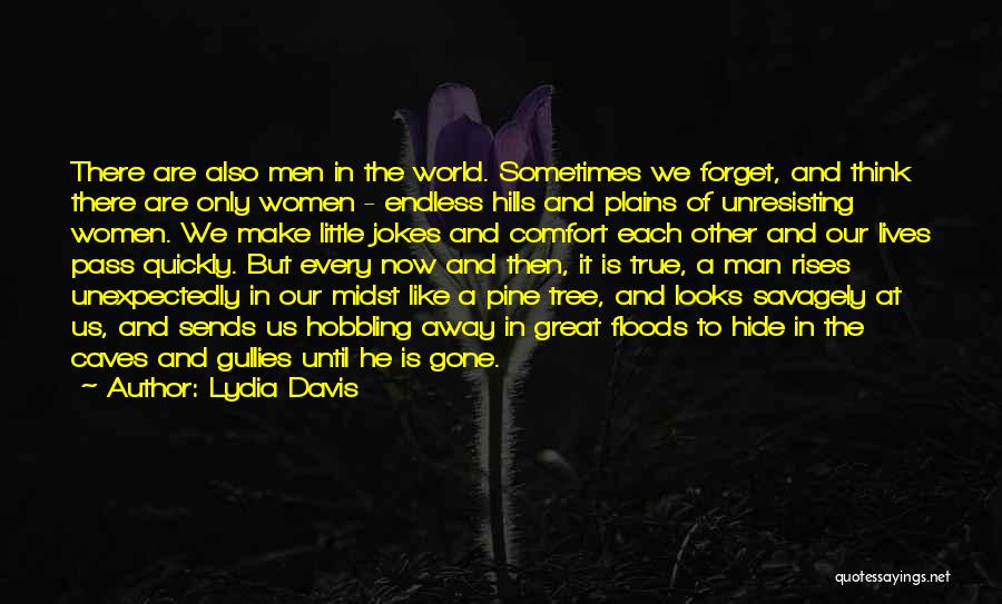 Gone Away Quotes By Lydia Davis