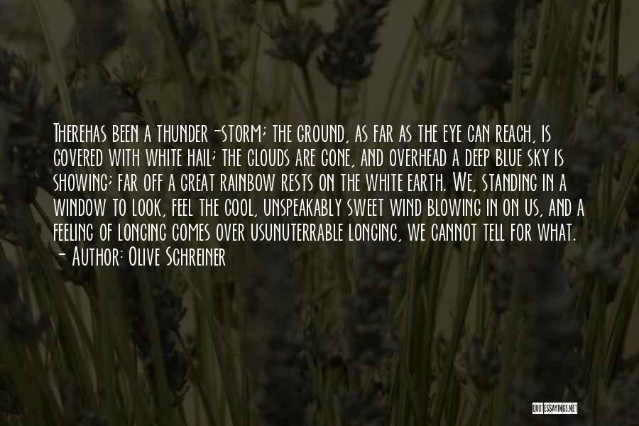 Gone With The Wind Quotes By Olive Schreiner