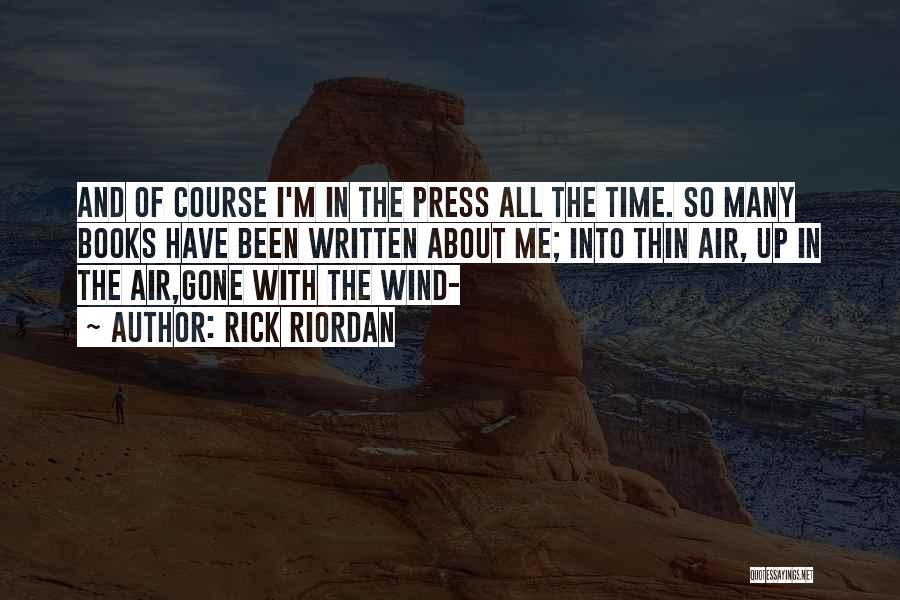 Gone With The Wind Quotes By Rick Riordan
