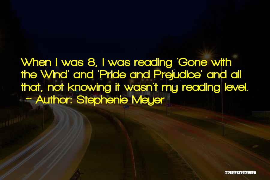 Gone With The Wind Quotes By Stephenie Meyer