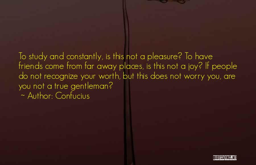 Good And True Friends Quotes By Confucius