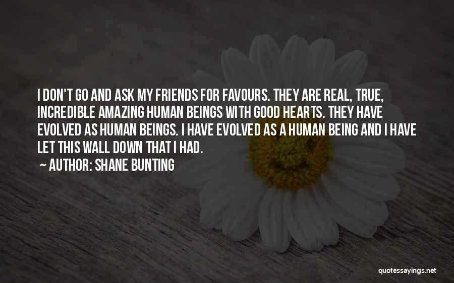 Good And True Friends Quotes By Shane Bunting