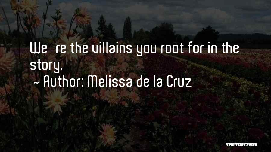 Good Anti-christian Quotes By Melissa De La Cruz