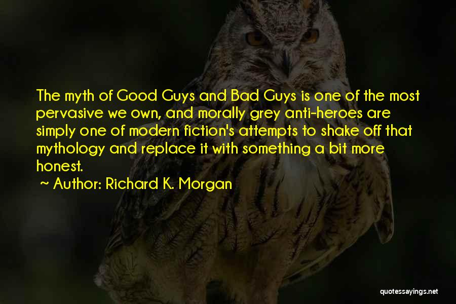Good Anti-christian Quotes By Richard K. Morgan