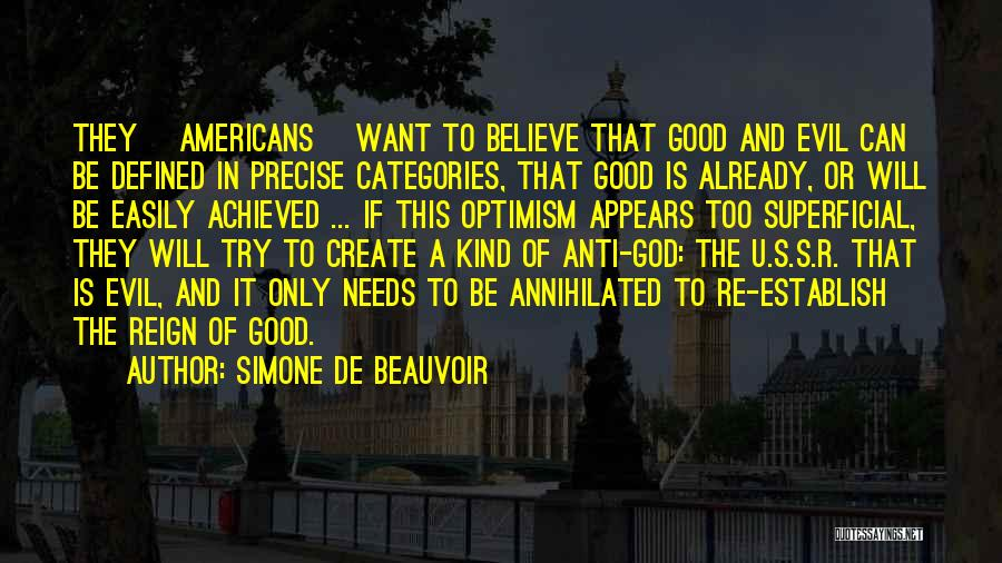 Good Anti-christian Quotes By Simone De Beauvoir
