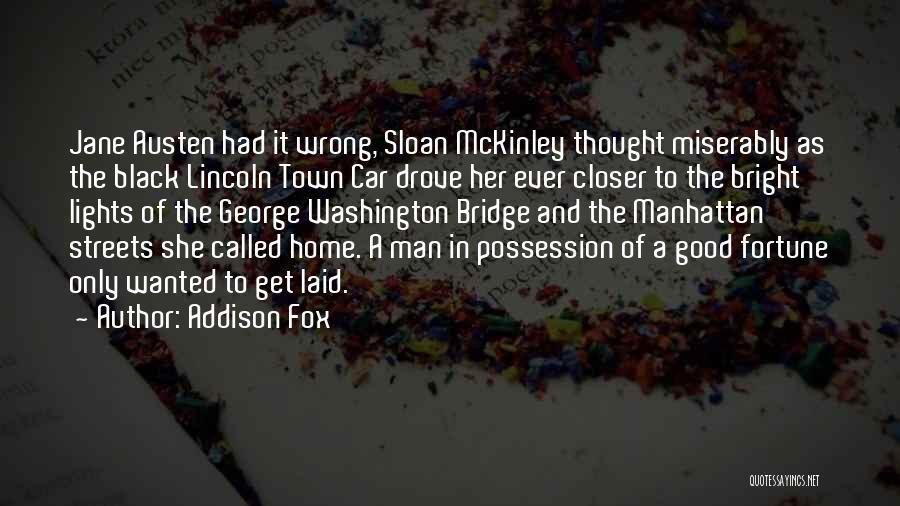 Good Black Man Quotes By Addison Fox