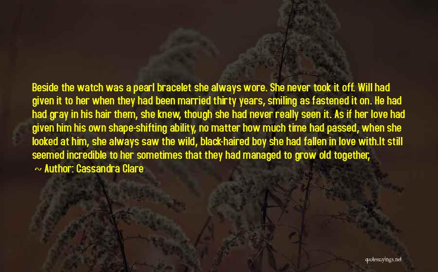 Good Black Man Quotes By Cassandra Clare