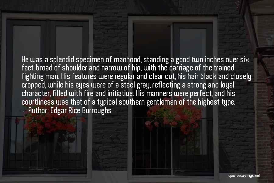 Good Black Man Quotes By Edgar Rice Burroughs