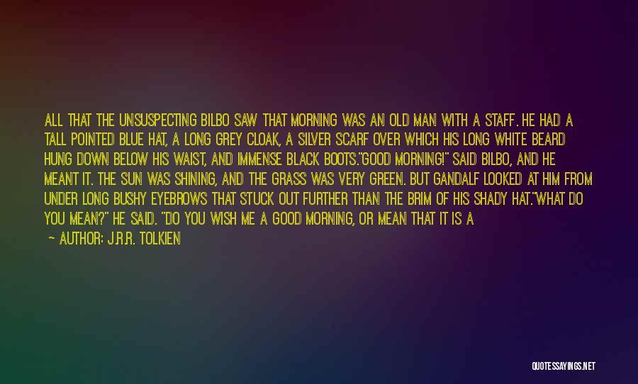 Good Black Man Quotes By J.R.R. Tolkien