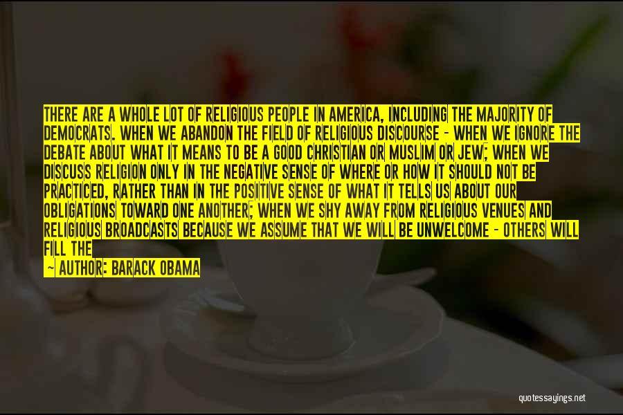 Good Christian Faith Quotes By Barack Obama
