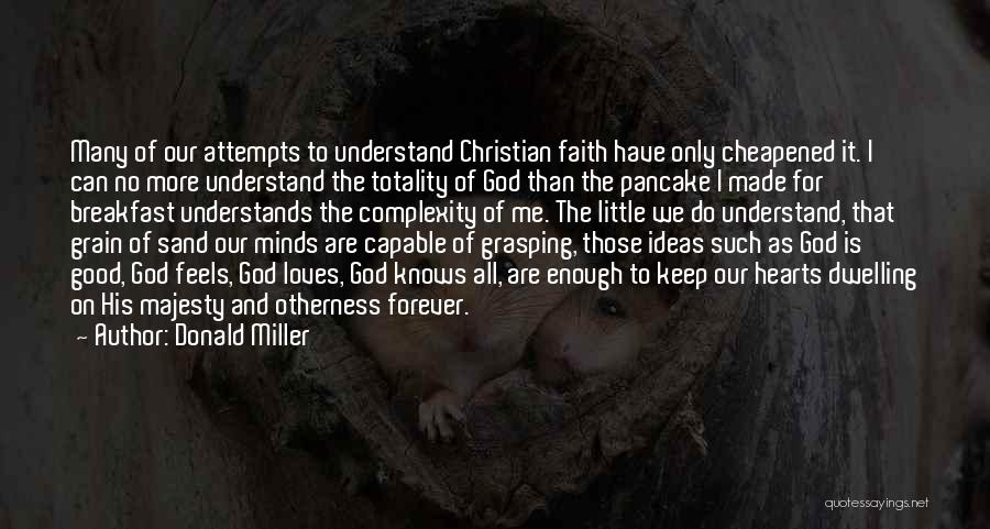 Good Christian Faith Quotes By Donald Miller