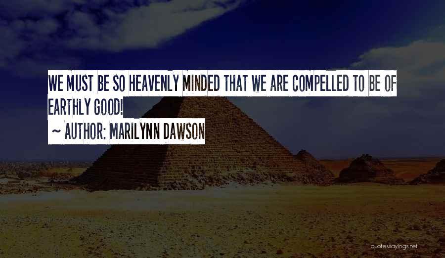 Good Christian Faith Quotes By Marilynn Dawson