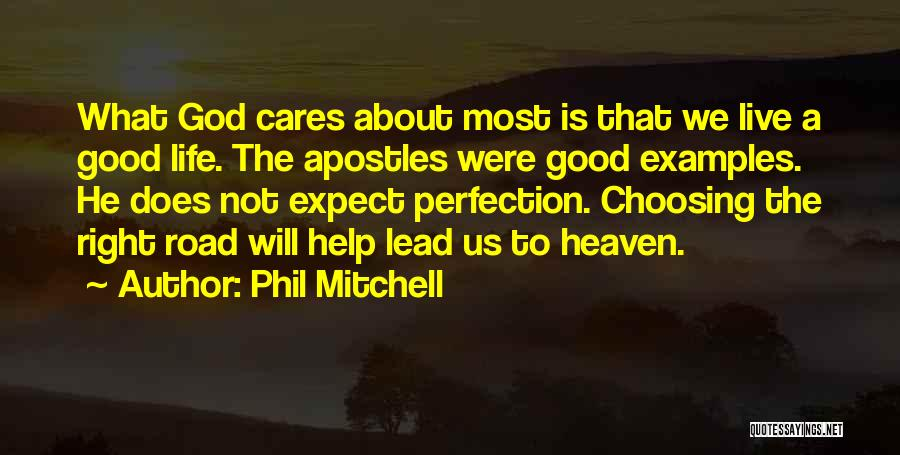 Good Christian Faith Quotes By Phil Mitchell