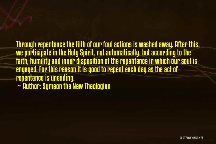 Good Christian Faith Quotes By Symeon The New Theologian