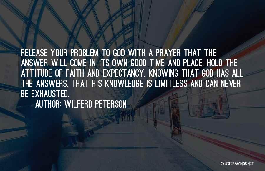 Good Christian Faith Quotes By Wilferd Peterson