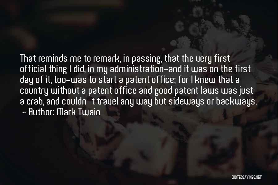Good Day To Start Quotes By Mark Twain