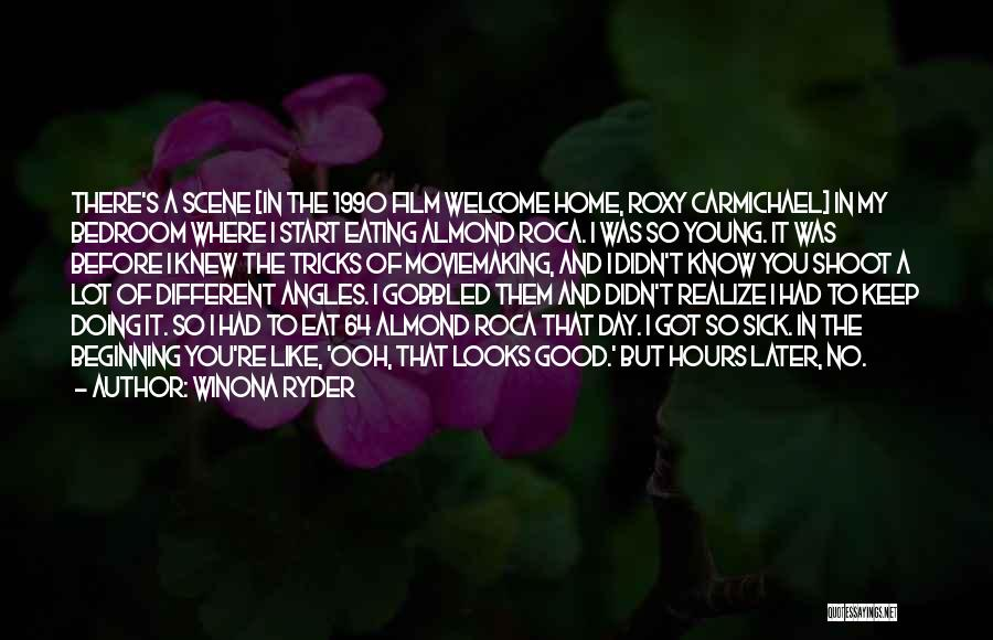 Good Day To Start Quotes By Winona Ryder