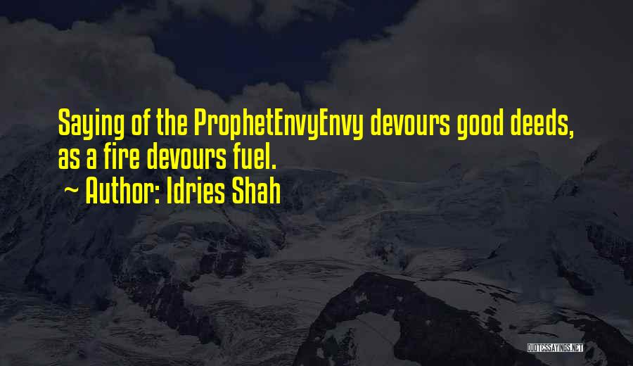 Good Deeds In Islam Quotes By Idries Shah