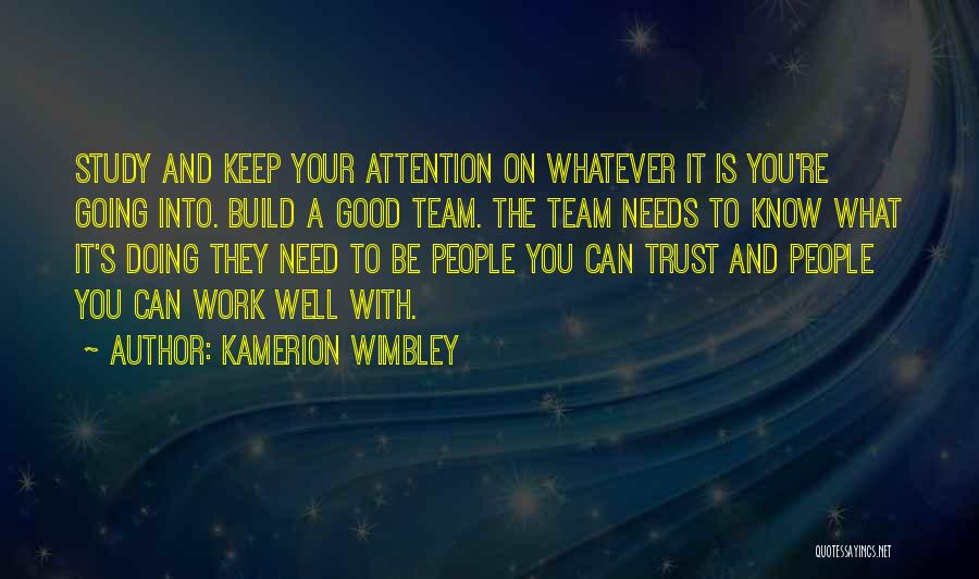 Good Doing Quotes By Kamerion Wimbley