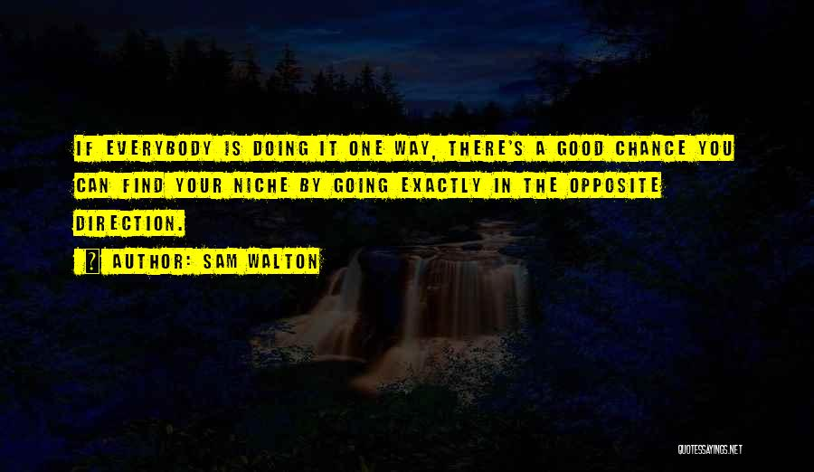 Good Doing Quotes By Sam Walton